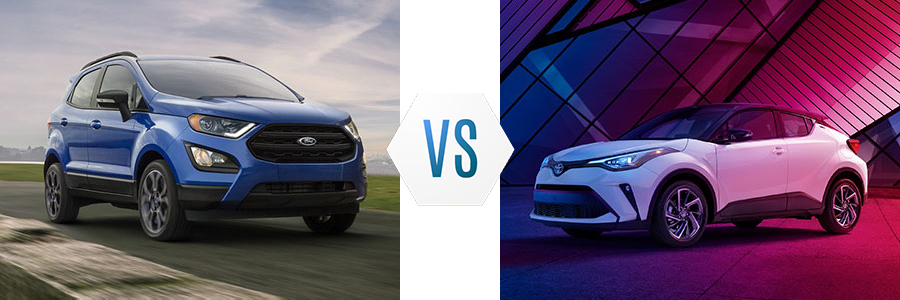 2020 Ford EcoSport vs Toyota C-HR