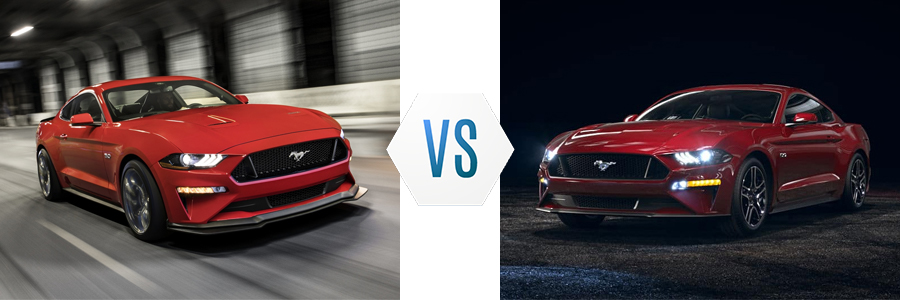 Ford Mustang Ecoboost Line vs GT Line