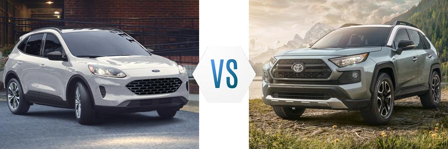 2021 Ford Escape vs Toyota Rav4