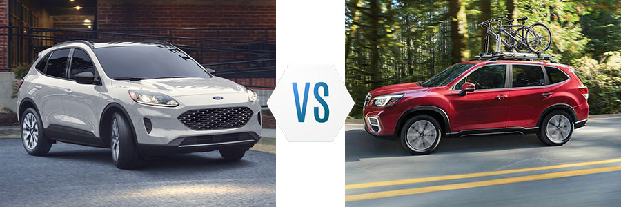 2020 Ford Escape vs Subaru Forester