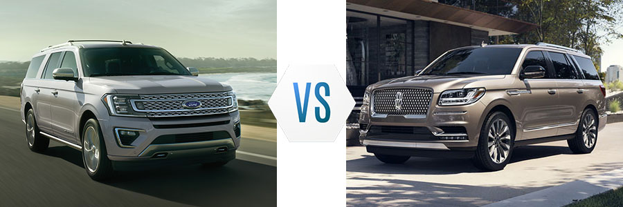 2020 Ford Expedition vs Lincoln Navigator