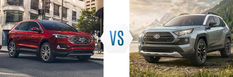 2020 Ford Edge vs Toyota RAV4