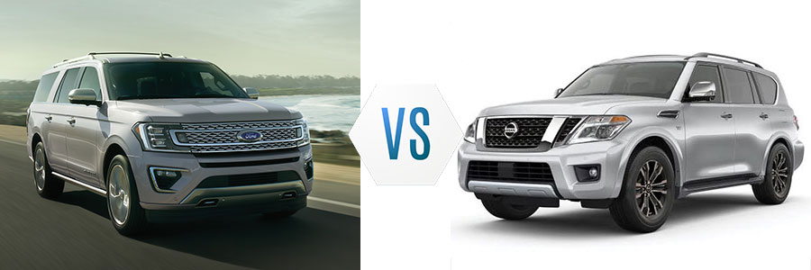 Ford Expedition vs Nissan Armada