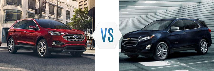 2020 Ford Edge vs Chevrolet Equinox