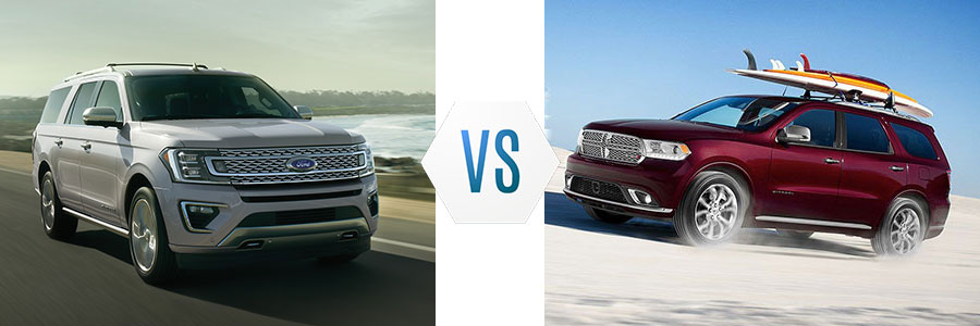 2020 Ford Expedition vs 2020 Dodge Durango