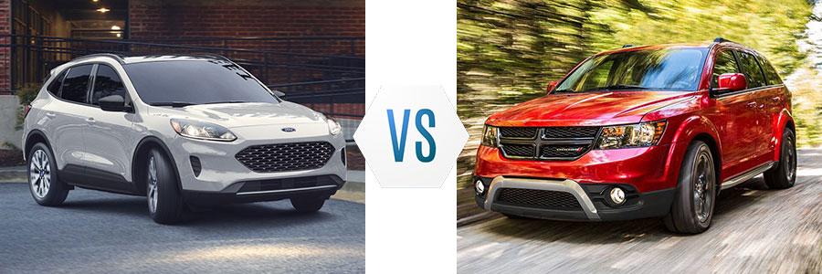 2020 Ford Escape vs Dodge Journey