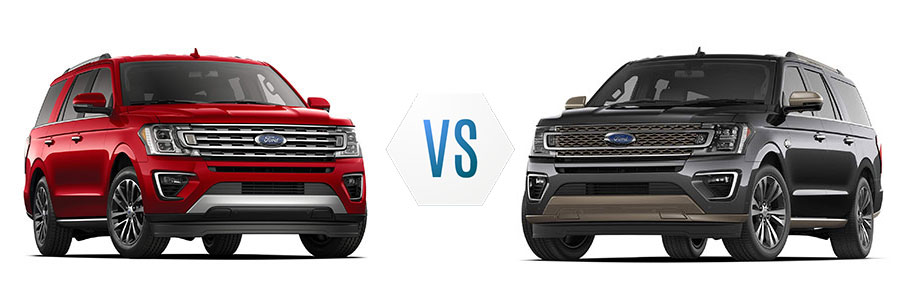 Ford Expedition Limited vs King Ranch Max