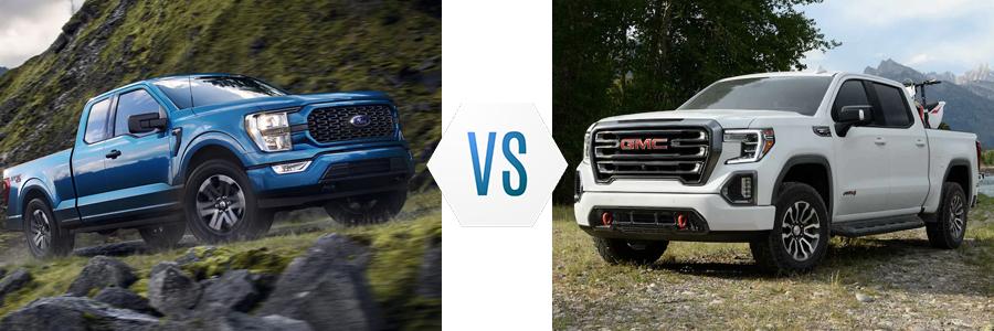 2021 Ford F-150 vs GMC Sierra 1500