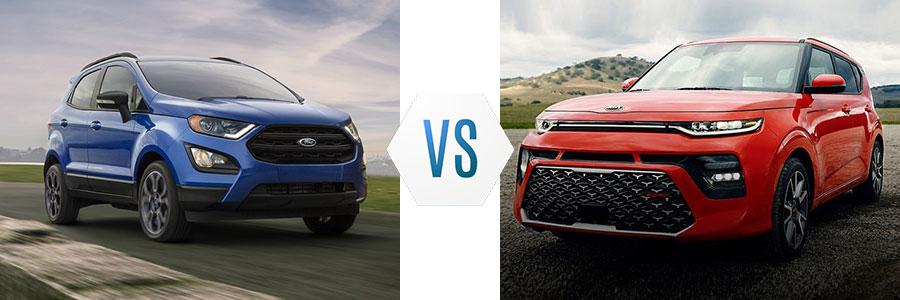 Ford EcoSport vs Kia Soul