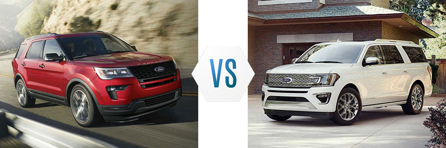 Ford Explorer Vs Ford Expedition