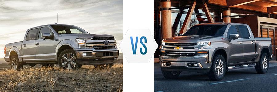 Ford F-150 vs Chevrolet Silverado 1500