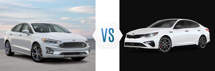 2020 Ford Fusion vs 2020 Kia Optima