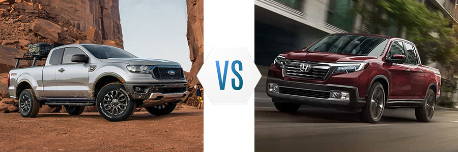 2020 Ford Ranger vs 2020 Honda Ridgeline