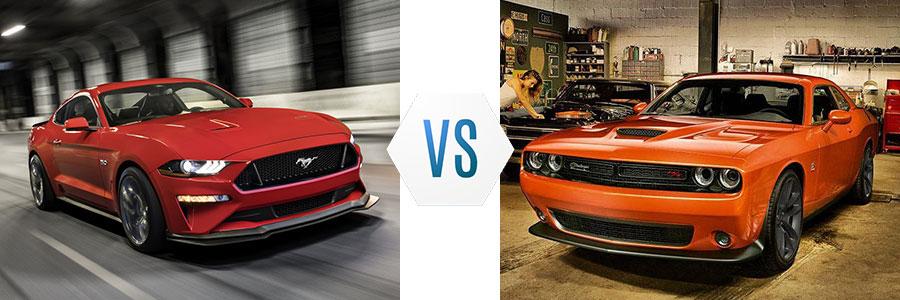 2020 Ford Mustang vs Dodge Challenger
