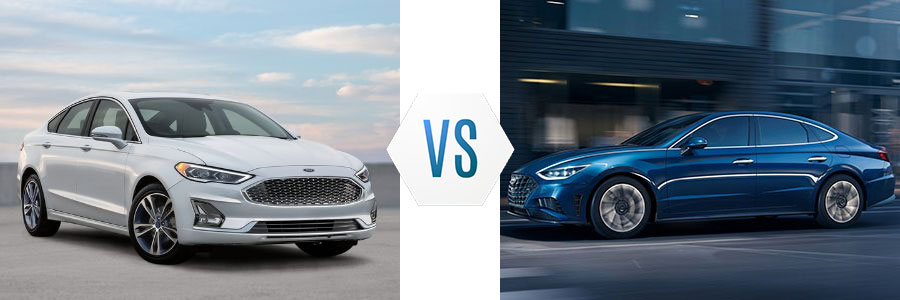 2020 Ford Fusion vs Hyundai Sonata
