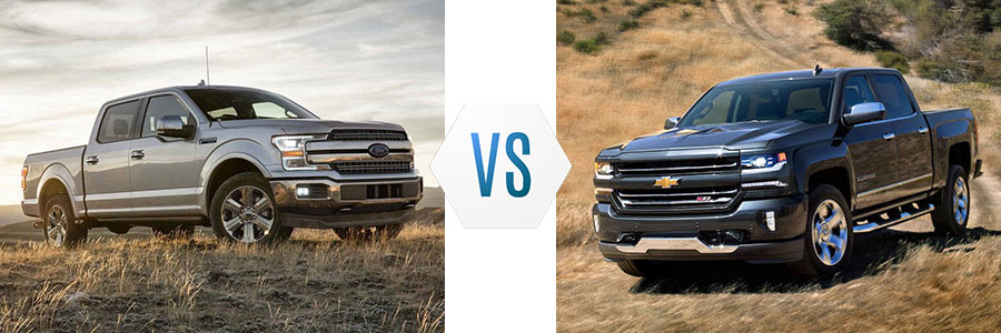 Ford F150 Vs Chevy Silverado >> 2018 Ford F 150 Vs Chevy Silverado 1500