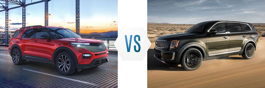 Ford Explorer vs Kia Telluride