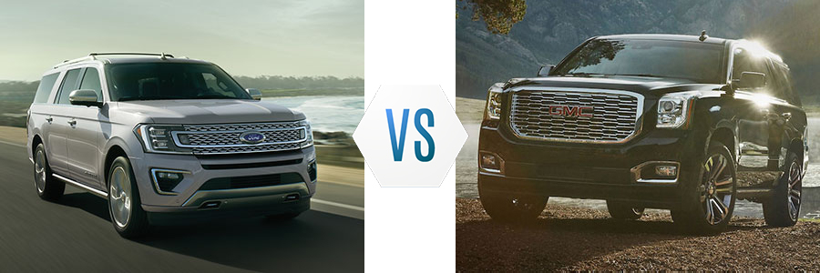 2020 Ford Expedition vs GMC Yukon XL
