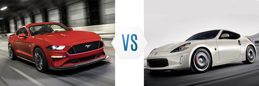 2020 Ford Mustang vs Nissan 370Z
