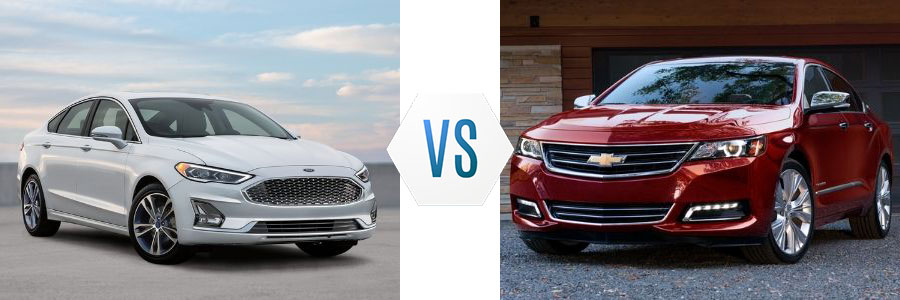 2020 Ford Fusion vs Chevrolet Impala