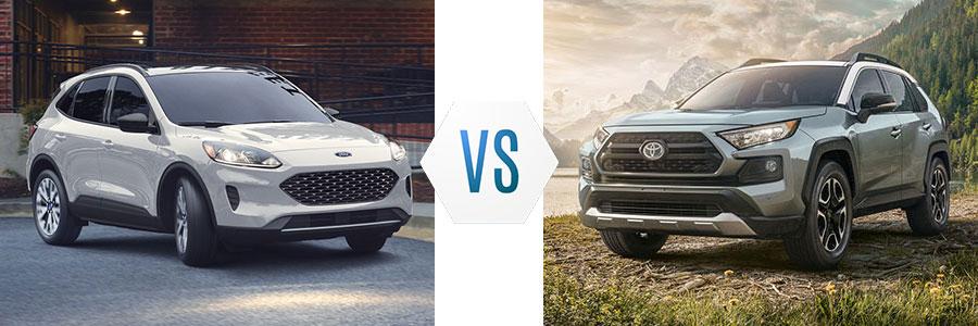 2020 Ford Escape vs Toyota RAV4