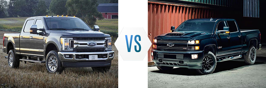 2008 ford f250 vs chevy 2500
