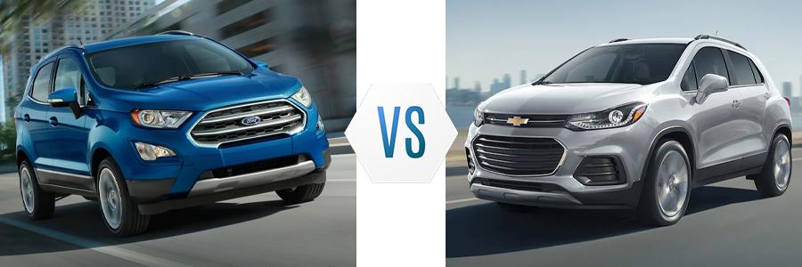 2021 Ford EcoSport vs Chevy Trax