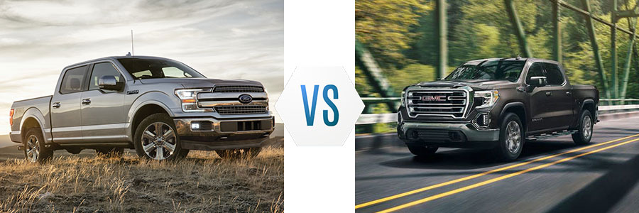 2020 Ford F-150 vs GMC Sierra 1500