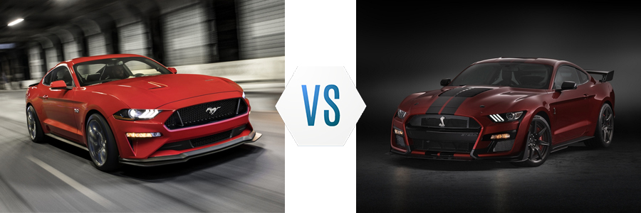 Ford Mustang GT Line vs Shelby Line