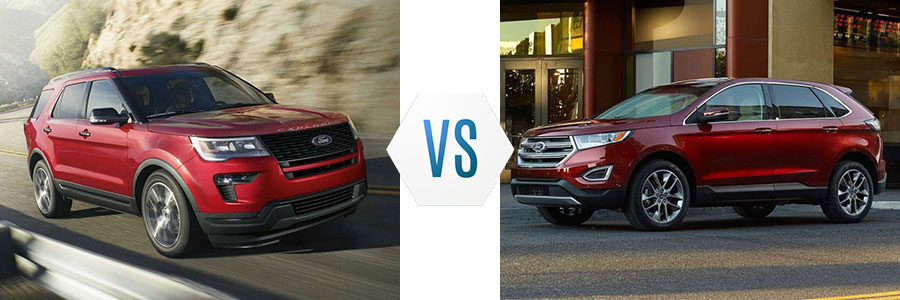 Ford Explorer Vs Ford Edge