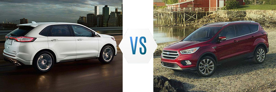 Ford Edge Vs Escape >> 2018 Ford Edge Vs Ford Escape