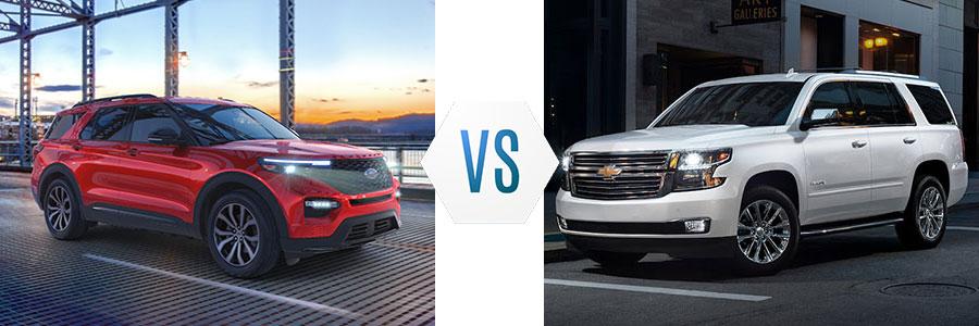 Ford Explorer vs Chevrolet Tahoe