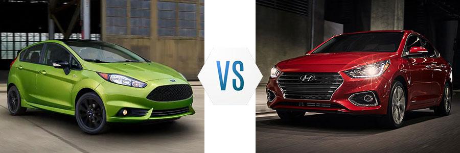 2019 Ford Fiesta vs Hyundai Accent